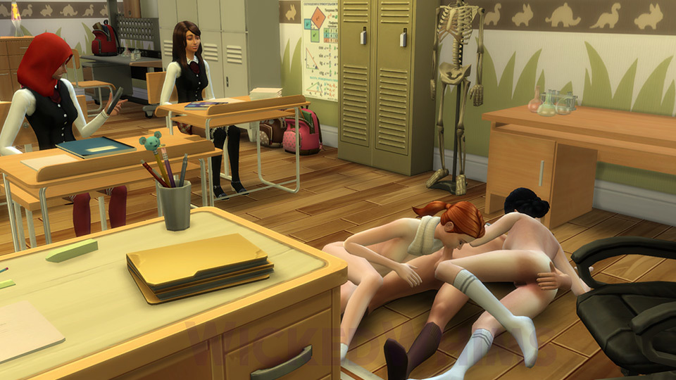 Wickedwhims Blowjob School Student Sims