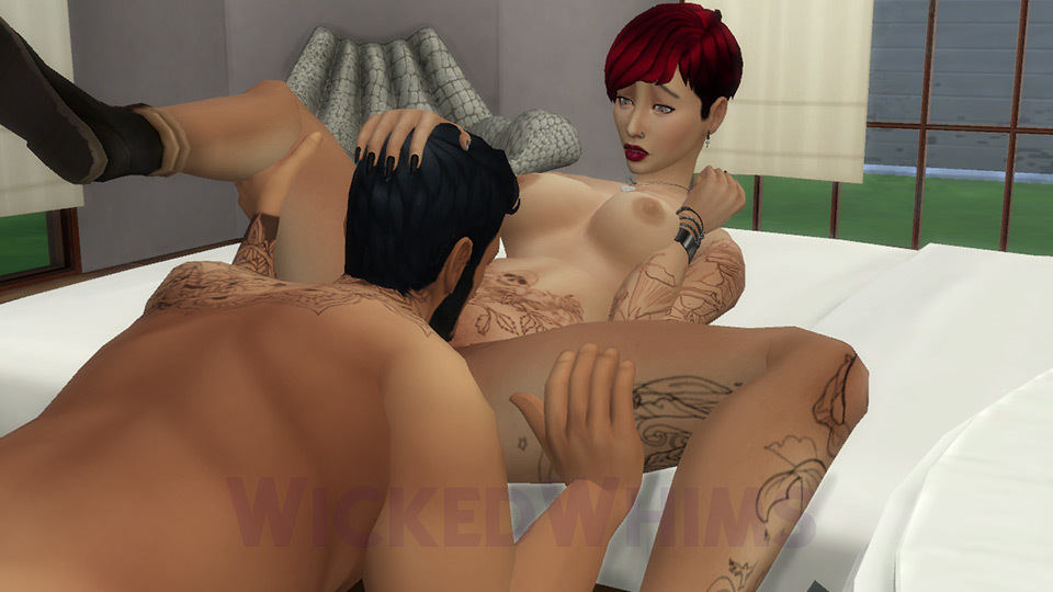 Wickedwhims Cunilingus Tattoo Girl Sims