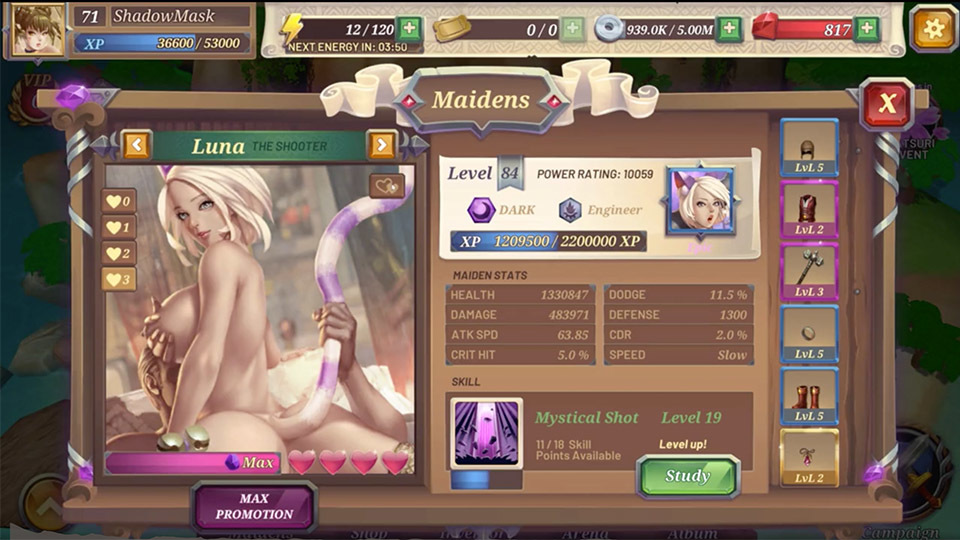 Crystal Maidens 13