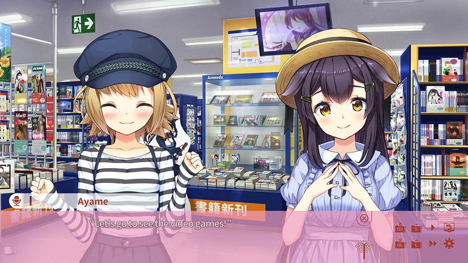 Nekomiko Kaede Ayame Shop Video Game
